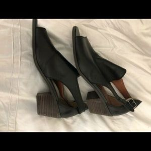 Lucky Brand - Size 8 Peep-toe Booties